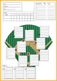 Softball Depth Chart Excel Football Depth Chart Template Nlpcoaching Me