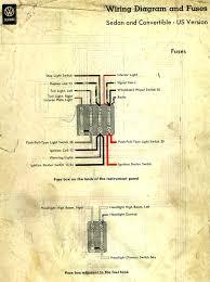 thesamba com type 1 wiring diagrams 1958 usa diagram key fuses