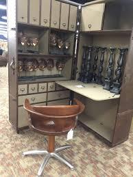 Distressed Wood fice Desk Flatiron Craigslist Who Makes