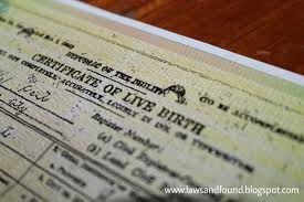 Laws And Found Correction Of Entry In A Birth Certificate Under
