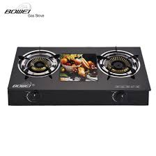 china kitchen equipment clean glass cook top double gas burner china double gas burner clean glass cook top