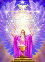 Espaço Mãe do Céu - Espiritualidade - PVMDC - UM POUCO MAIS SOBRE ARCANJO  METATRON A estrutura ou consciência Metatron, para poder atuar no quadrante  de Órion nas imediações das Três Marias,