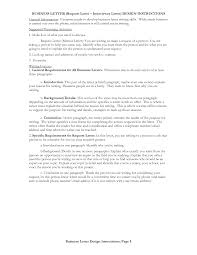 Interview Request Letter Sample With Sample Letter Requesting An