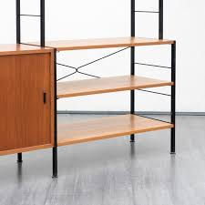free standing shelving system in teak 1960s previous next