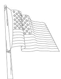 Small Picture Nation Flag of United States Coloring Page Download Print