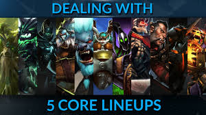 the truth about 5 core lineups dota 2 pro guide gameleap com