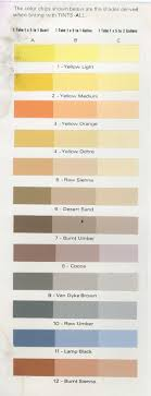 Sheffield Color Chart Sheffield Products