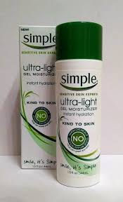 Simple Ultra Light Gel Moisturizer The Budget Beauty Blog