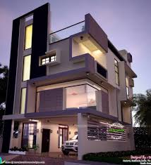 Small Picture Contemporary Style House In 2300 Square Feet Kerala Home Modern