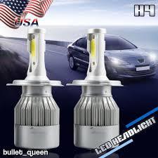 Honda Prelude Light Bulb Size H4 Led Headlight Hi Low Beam Bulbs For Toyota Camry 1997
