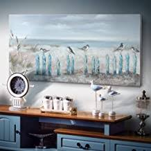 Coastal living have much attraction for people and present good deal of enjoyment and pleasure. Amazon Com Coastal Wall Art For Living Room