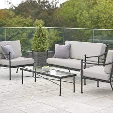 harvington 4 piece garden sofa set