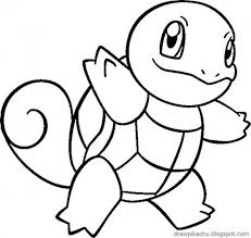 Pokemon Coloring Pages To Print Squirtle Pixel 99 Colorsinfo