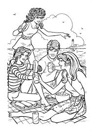 Small Picture Barbie as the Princess and the Pauper coloring picture coloring