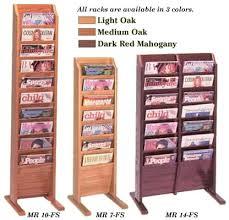 magazine rack office. Oak Magazine Floor Racks, Racks Rack Office E