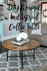 Diy Round Coffee Table 17 Best Ideas About Round Wood Coffee Table On Pinterest Round