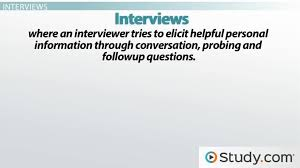 Survey Researcher Sample Resume Impressive Conducting Surveys And Interviews Explanation Purpose Video