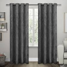 twig black pearl insulated blackout grommet top window curtain
