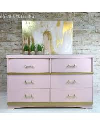 pink painted furniture. Painted Furniture, Nursery Dresser, Kids Room, Blush,  Changing Table Pink Painted Furniture