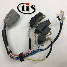 wire harness for ignition distributor td80u td 84u manufacturing wire harness for honda crx distributor td80u td 84u