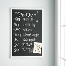 U-Brands Large Farmhouse Chalk Board ...