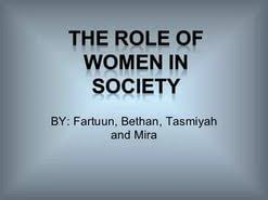 essay on women role in society  essay on women role in society