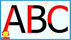 ฝึกเขียน ABC