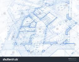 architecture design blueprint. Architecture Design: Blueprint - Vector Illustration Design R