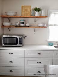 Easy Kitchen Update Number Fifty Three Easy Diy Kitchen Shelving Kitchen Reno Update