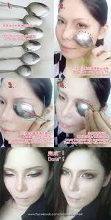 cosplay eyes makeup fake double eyelid tutorial by mollyeberwein deviantart on