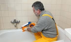 leaking bathtub
