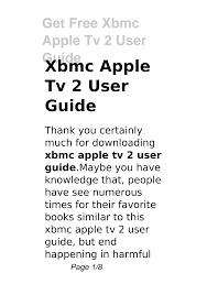 Xbmc Apple Tv 2 User Guide