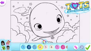 Coloring is a great way to spend quality time with your little one and also a great. Easiest Way Ever To Color A Disney Junior Tots Coloring Page Disney Junior Tots T O T S Youtube