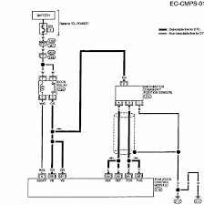wiring harness schematic for ditributor on 1995 nissan altima graphic