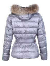 moncler angers fur hood quilted jacket light grey moncler polos moncler gle hot