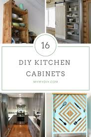 16 diy cabinets plans