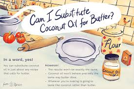 Substituting Coconut Oil For Butter
