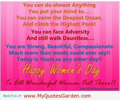 Women\'s Day Quotes