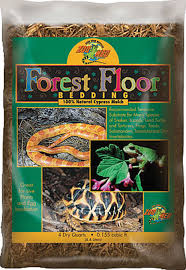 forest floor bedding