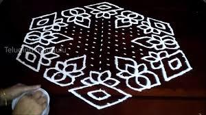 Bhogi Muggulu Designs With Dots Sankranthi And Bhogi Kolam Designs With 21 11 Midlle