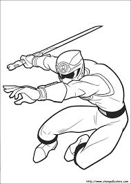Disegni Di Power Rangers Da Colorare