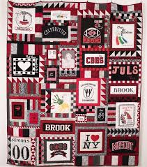 Memory Quilt Ideas You'll Love - On Craftsy! & High School T-Shirt Quilt Adamdwight.com