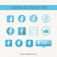 Facebook Logo For Business Card Facebook Logo Icons And Buttons Vector Premium Download