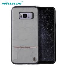 samsung phone back. nillkin for samsung galaxy s8 case original mercier leather cases plus phone back