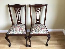 chippendale dining chairs. Chippendale Dining Chairs Antique Mahogany Pair C