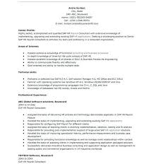 Sap Hr Resume Sample Stunning Sap Hr Resume Download Download Sample SAP Plant Maintenance