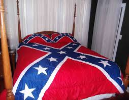 Confederate bedding / blankets, comforters, sheets, etc ... & This is a 3 piece King size comforter set with 2 pillow shams. The  comforter measures 102 inches by 90 inches. The pillow shams measure 37  inches x 21 ... Adamdwight.com