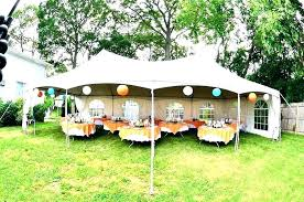 backyard party tent designs outdoor