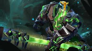 earth spirit dota 2 game art wallpaper 4313