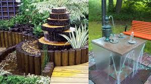 creative garden small fountain ideas outdoor water fountain